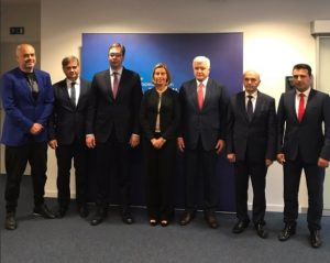 Mogherini takon Ramën  mbështetje vetingut e reformave