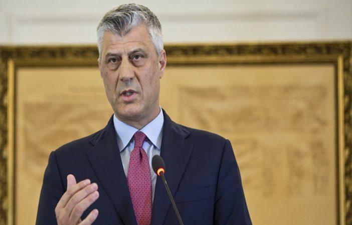 Thaçi  Jam i gatshëm të nënshkruaj marrëveshje për bashkimin e Preshevës me Kosovën