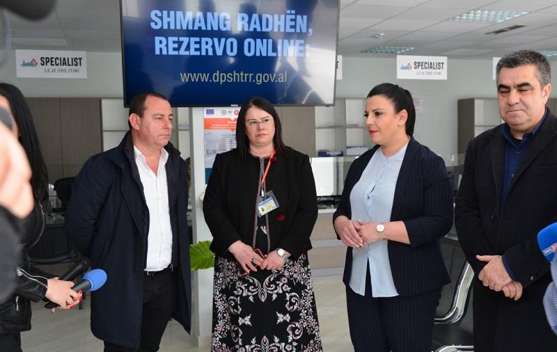 Rikonstruktohen ambjentet e DRSHTRR Elbasan  Balluku  Rrisim cilësinë e shërbimit