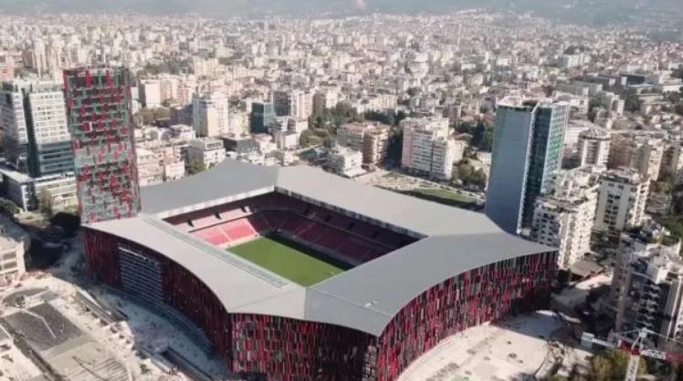UEFA zbardh vendimin  Shqipëri Francë luhet në  Arenën Kombëtare