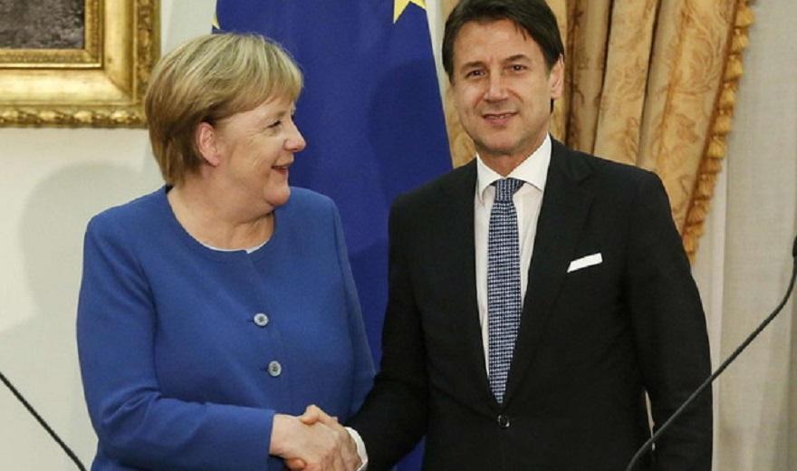 Merkel Conte  Të hapen negociatat për Shqipërinë dhe Maqedoninë e Veriut