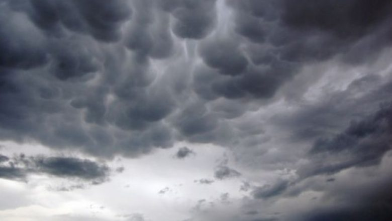 Vranësira e reshje shiu, parashikimi i motit për sot