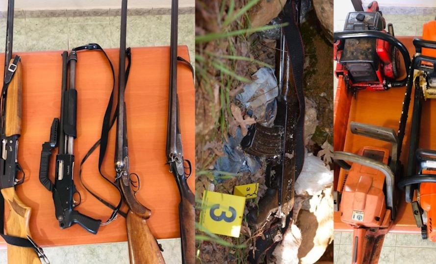 Qëlluan me armë ajër  Arrestohen 7 të dyshuar për vjedhje në Dibër
