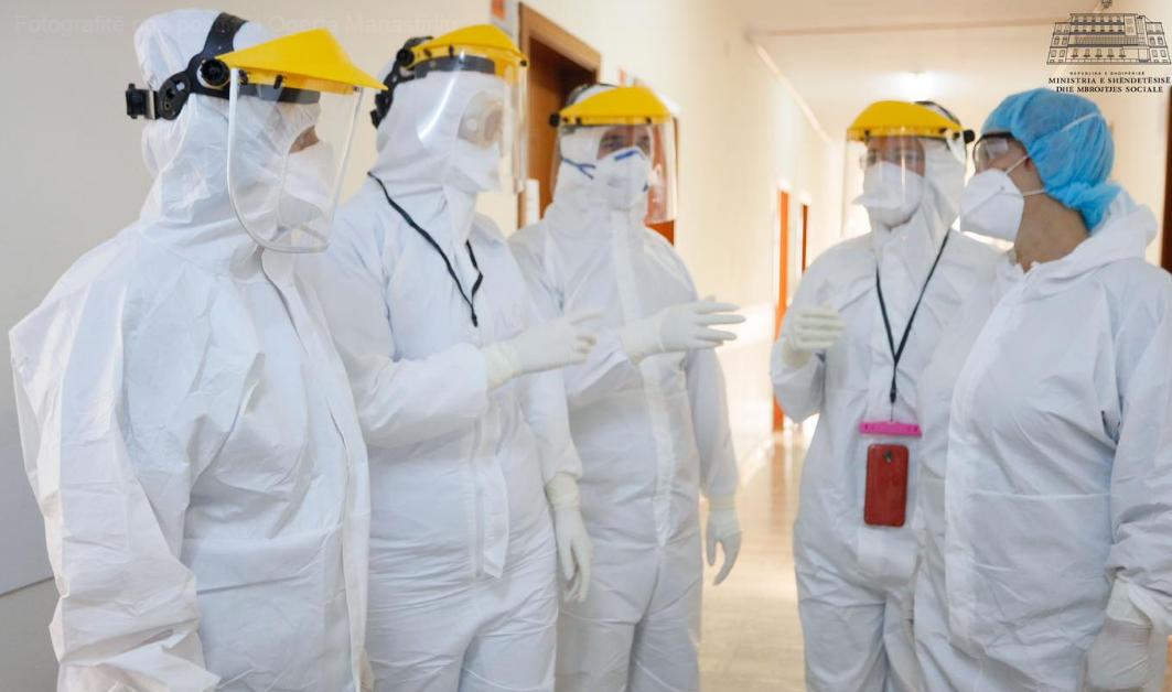 Manastirliu  1 mjeke dhe 4 infermierë shërohen nga koronavirusi