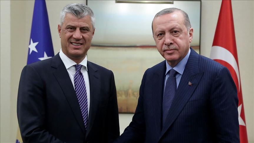 Beteja kundër COVID 19  Thaçi falenderon Erdogan për ndihmat mjekësore