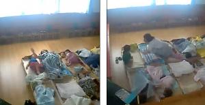"""""""Jastëk dhe shpulla kokës""""/ Momenti tronditës kur fëmijët rrihen nga edukatoret e kopshtit"""