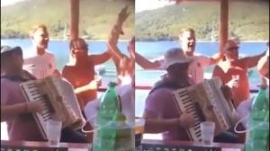 Manuel Neuer kapet duke kënduar këngë nacionaliste kroate