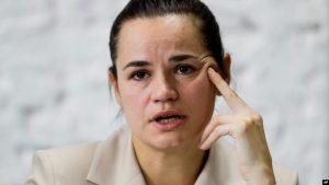 Udhëheqësja e opozitës bjelloruse, takim me zyrtarin e SHBA