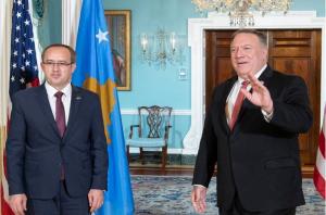 Hotin takon Pompeon/ SHBA: Mbështesim Kosovën pas marrëveshjes me Serbinë