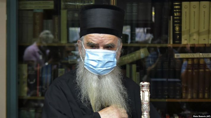 Vdes kreu i Kishës Ortodokse Serbe në Mal të Zi, ishte prekur nga Covid-19