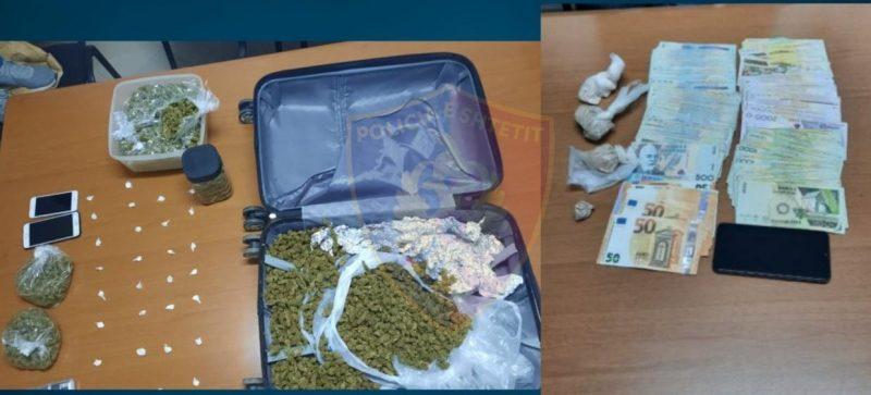 Shpërndanin drogë në Tiranë, dy të arrestuar