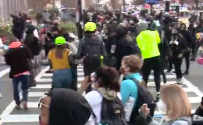 Protesta të dhunshme në SHBA/ Mbështetësit e Trump në rrugë, përplasen me grupet e majta