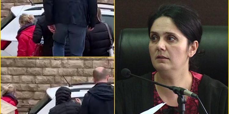 Filmimet fundosën gjyqtaren/ Enkeleda Hoxha u takua me avokatin për të liruar persona të rrezikshëm