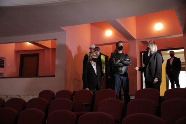 Rindërtohet salla e koncerteve/ Veliaj inspekton punimet në Akademinë e Arteve