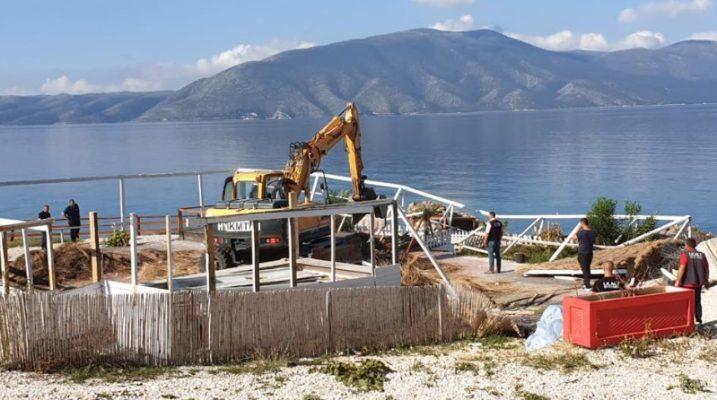 254 ndërtime pa leje në bregdet do shemben/ IKMT: Operacioni mbyllet në fund qershori