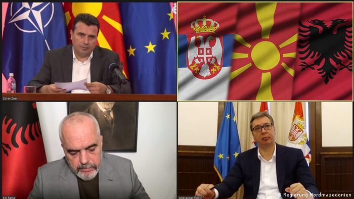 Vuçiç, Rama dhe Zaev mbështesin një treg të përbashkët rajonal
