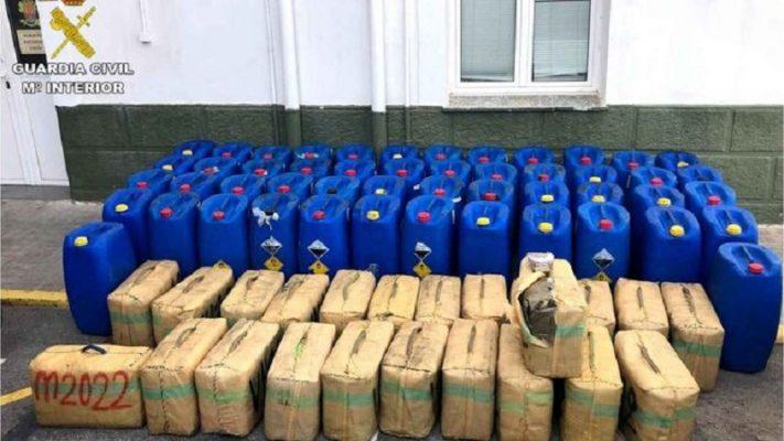 Policia spanjolle kap 2.5 ton hashash në një jaht, ja ku ishte fshehur sasia