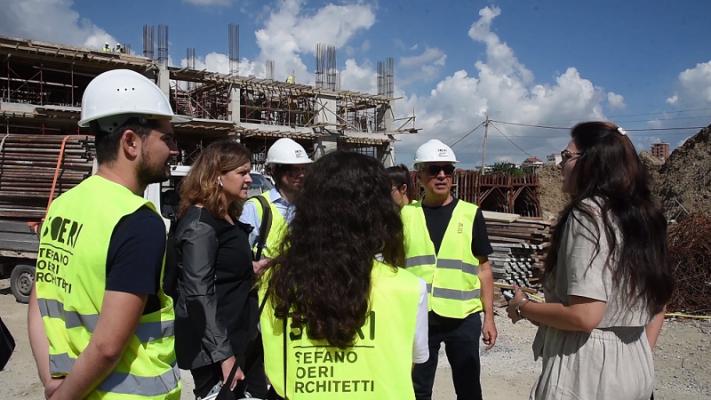 """Arkitekti italian inspekton """"5 Majin"""": Do të jetë një lagje moderne me gjlerbërim"""