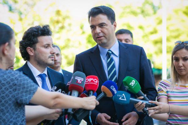 Abazoviç pritet edhe nga Basha: Të ulim tensionet, koha për frymë evropiane në trevat tona