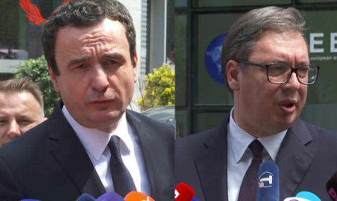 Kurti pas takimit me Vuçiç: Propozova një marrëveshje për paqe, por u refuzua pa u lexuar