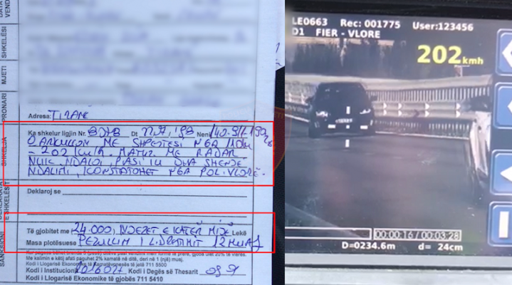 "Policia rrugore ""zhdëp"" shoferët problematik me gjoba dhe pezullim patente"