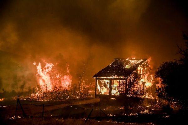 Greqia vijon betejën me zjarret, i nxehti më madh ndër dekada