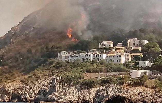 Mijëra hektarë të djegur në Itali
