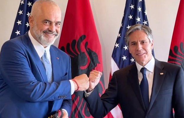 Telefonatë Blinken-Rama/ SHBA falenderon Shqipërinë për strehimin e afganëve