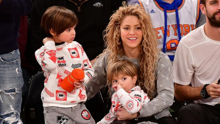 Shakira poston videon e rrallë me fëmijët duke kërcyer