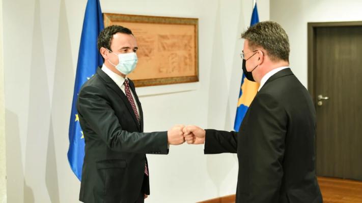 Kurti pas takimit me Lajçak: Kosova në dialog të jetë palë e barabartë dhe jo temë