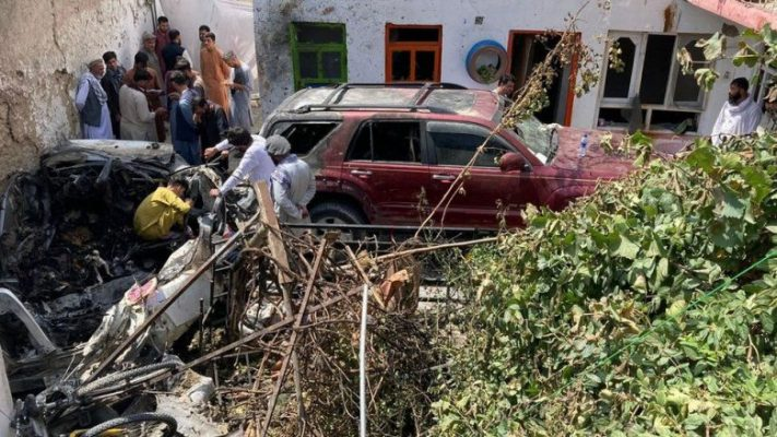 SHBA e pranon: Nga sulmi me dron në Kabul vdiqën dhe 10 njerëz të pafajshëm