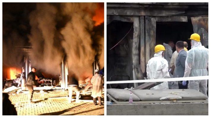 Pamjet e zjarrit vdekjeprurës në spitalin COVID në Tetovë, identifikohen viktimat