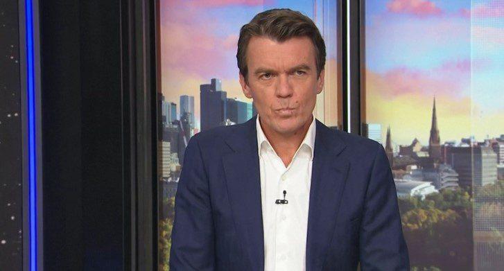 """Video-Tërmeti në Australi/ Momenti kur tërmeti """"shkund"""" gazetarët gjatë emisionit live në studio"""