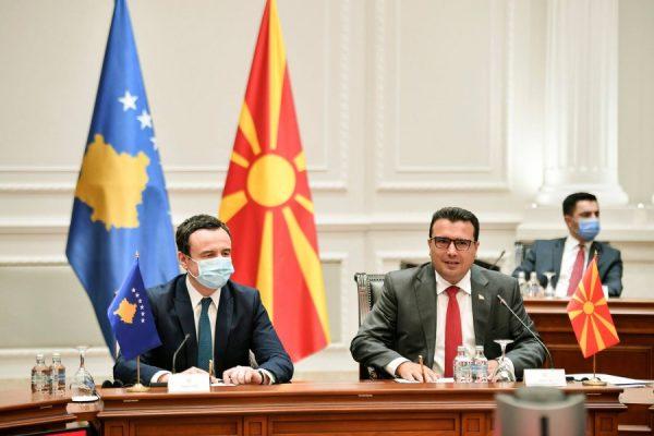 Qeveritë e Kosovës dhe Maqedonisë së Veriut mblidhen në Shkup, synohet thellimi i bashkëpunimit