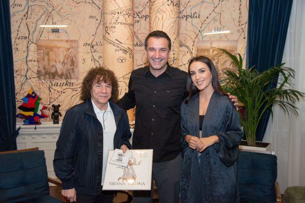 Prezantoi albumin më të ri ZanIN/ Veliaj takon Elhaida Danin dhe Riccardo Cocciante