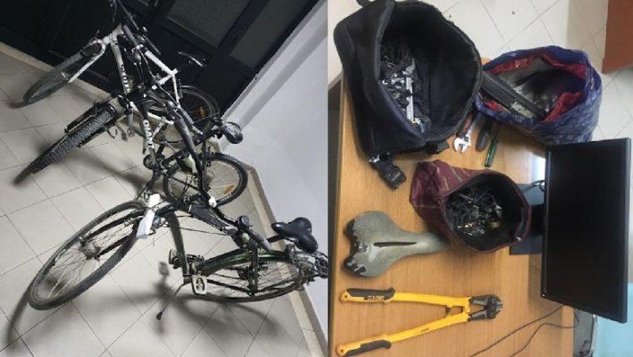 Kapet në flagrancë hajduti i tmerrshëm i biçikletave në Durrës