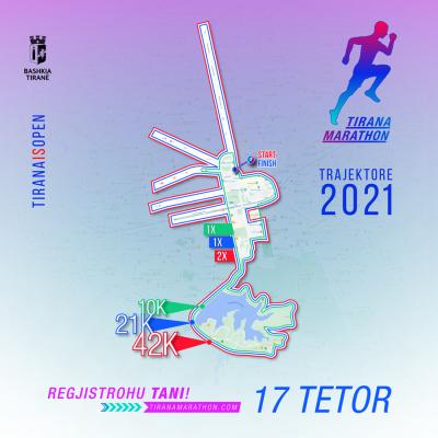 Maratona e Tiranës, nga 15 tetori do të ndalohet parkimi në këto rrugë të kryeqytetit