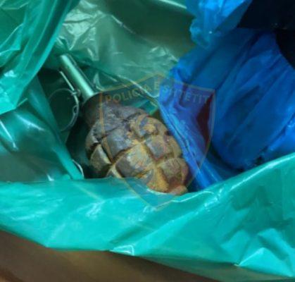 Iu gjetën dy granata me ndezës të montuar në banesë/ Arrestohet 52 vjeçari në Lezhë