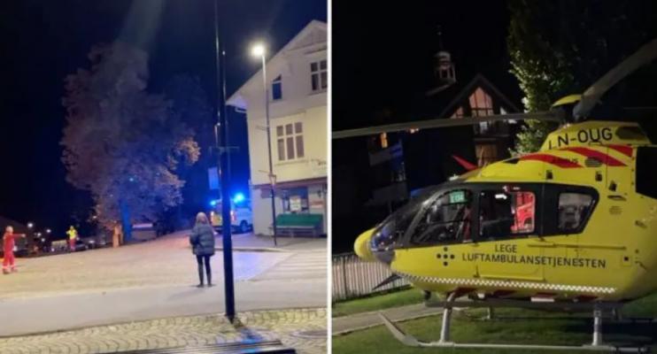 Sulm me hark dhe shigjeta në Norvegji/ Humbin jetën disa persona, ka edhe të plagosur