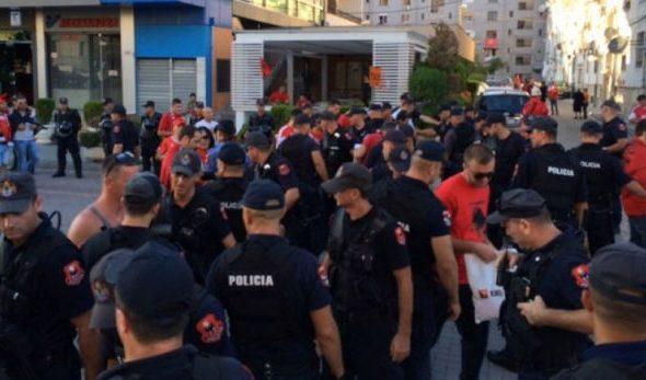 Policia publikon masat për ndeshjen me Poloninë/ Ja segmentet rrugore që do bllokohen